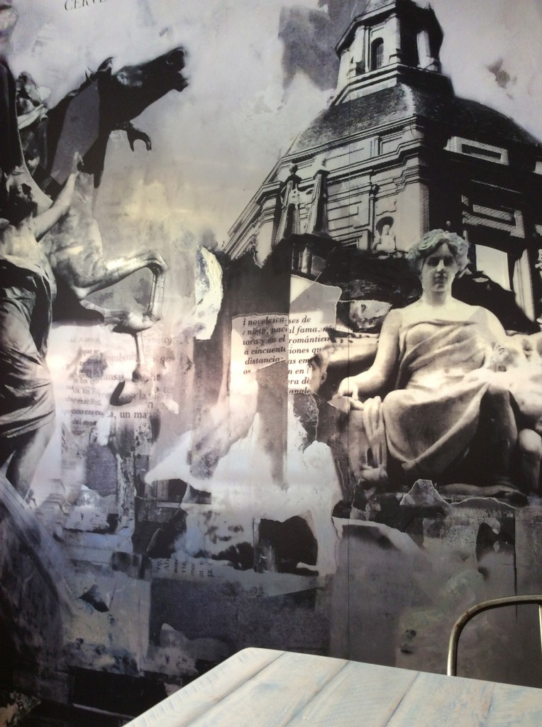 Mural San Andrés - Cervecería San Andrés - Madrid