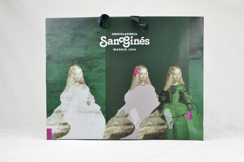 Diseño de bolsa San Ginés