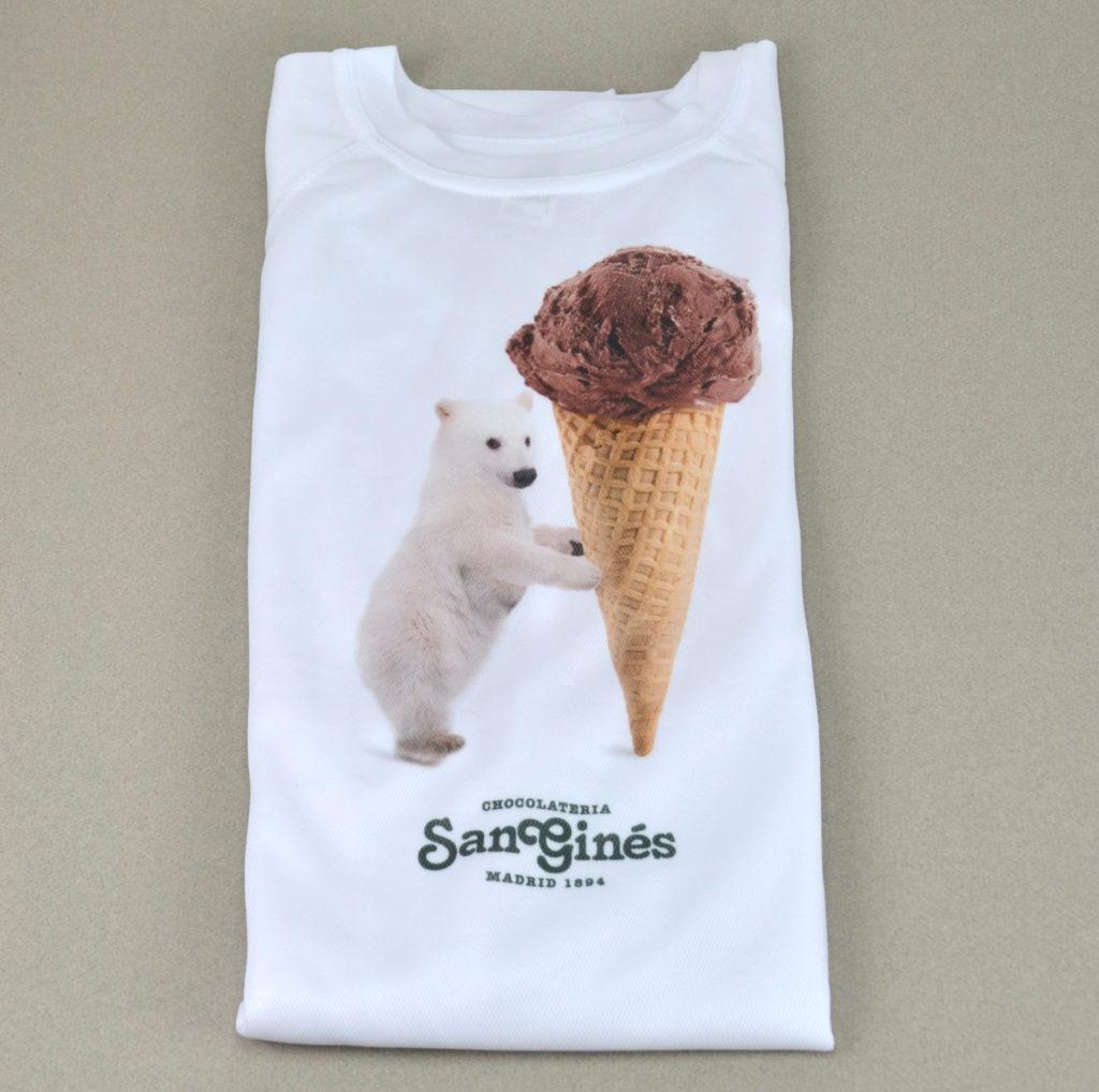 Diseño de camiseta niño San Ginés