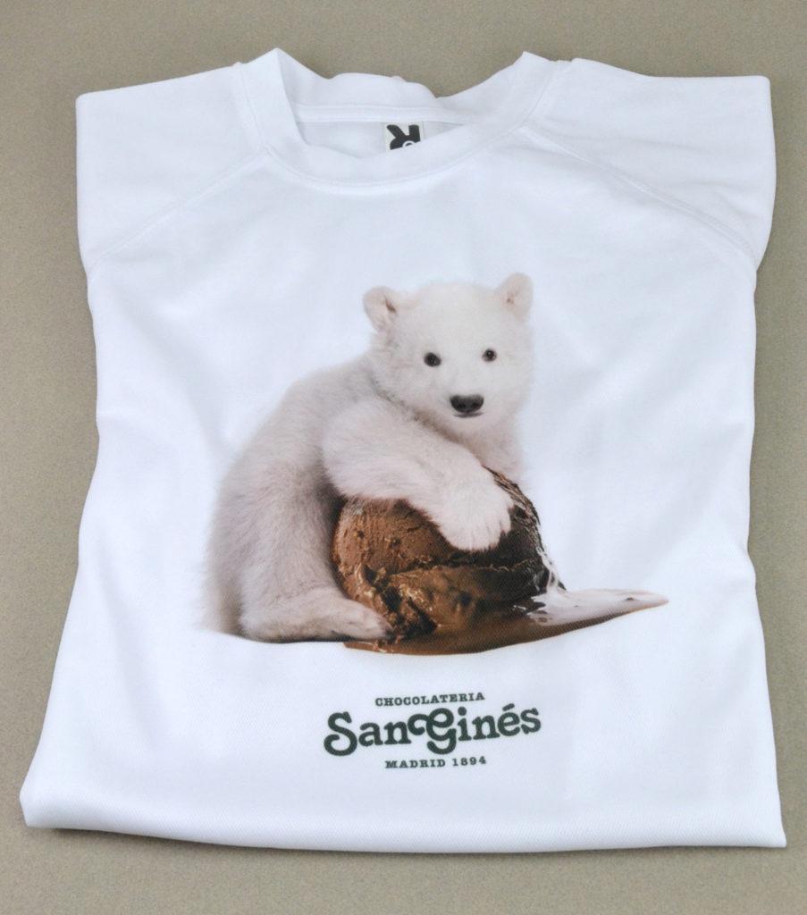 Diseño de camiseta San Ginés