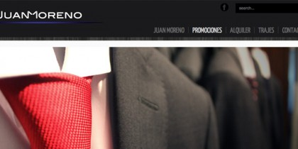 Web – Juan Moreno Trajes
