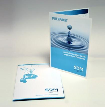 Díptico promocional SDM