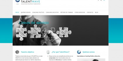 Web corporativa TalentWave