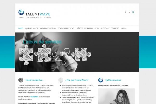 diseño web TalentWave