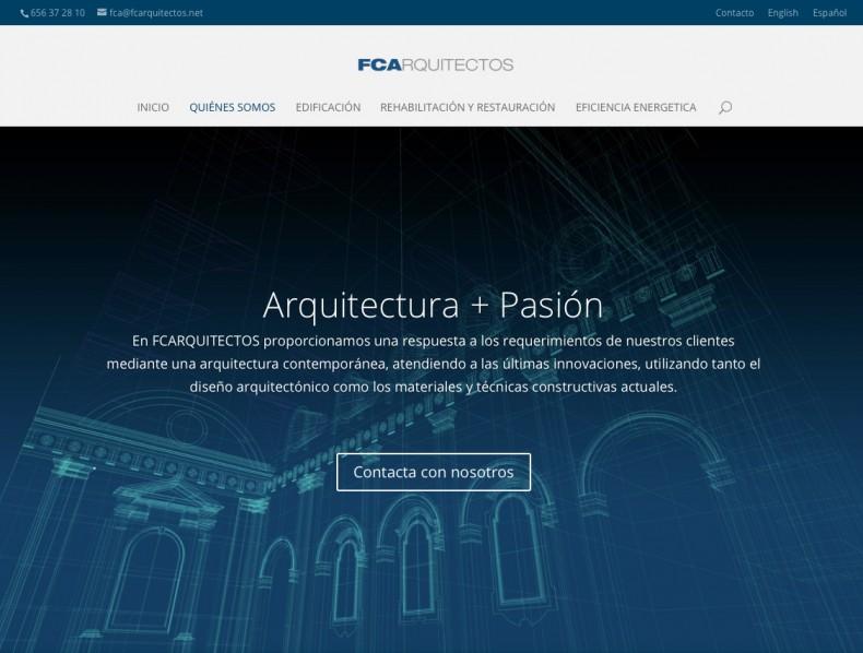 Pagina web FCArquitectos