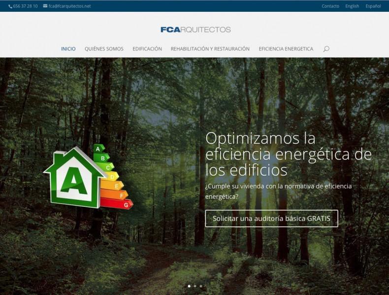 Página web FCArquitectos