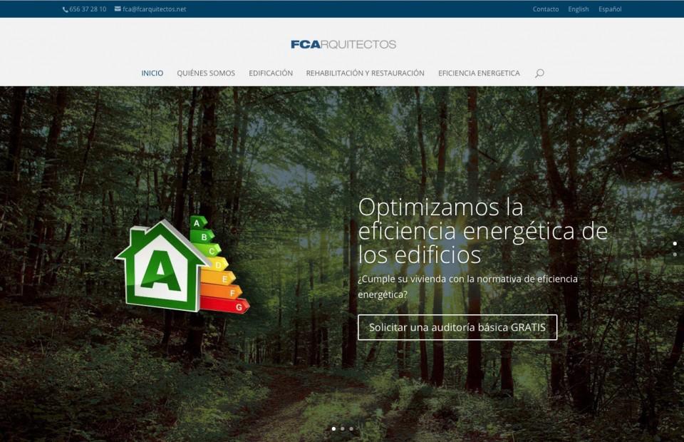 Diseño web FCArquitectos