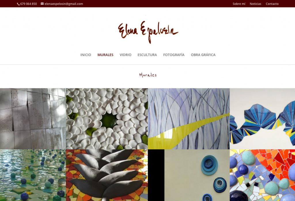 Página web de Elena Espelosín