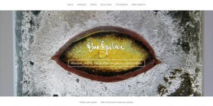 Diseño web de página web para Elena Espelosín