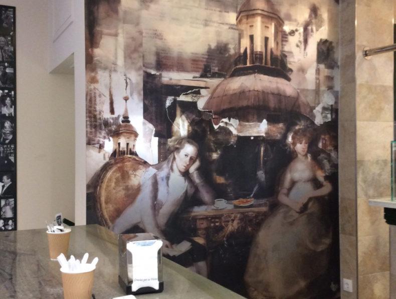 Merchandising, decoración y murales para San Ginés
