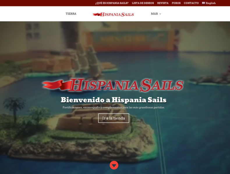Web Hispania Sails
