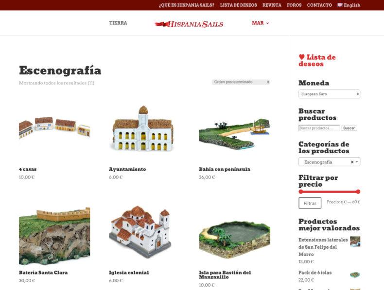 Diseño y programación web tienda on-line