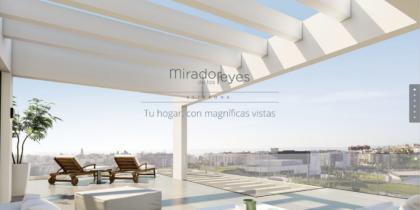 Landing Page Mirador de los Reyes