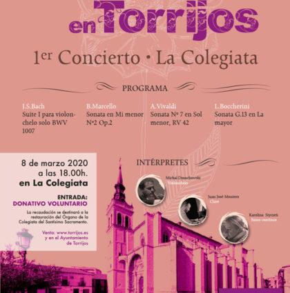 Carteles para conciertos de música clásica en Torrijos