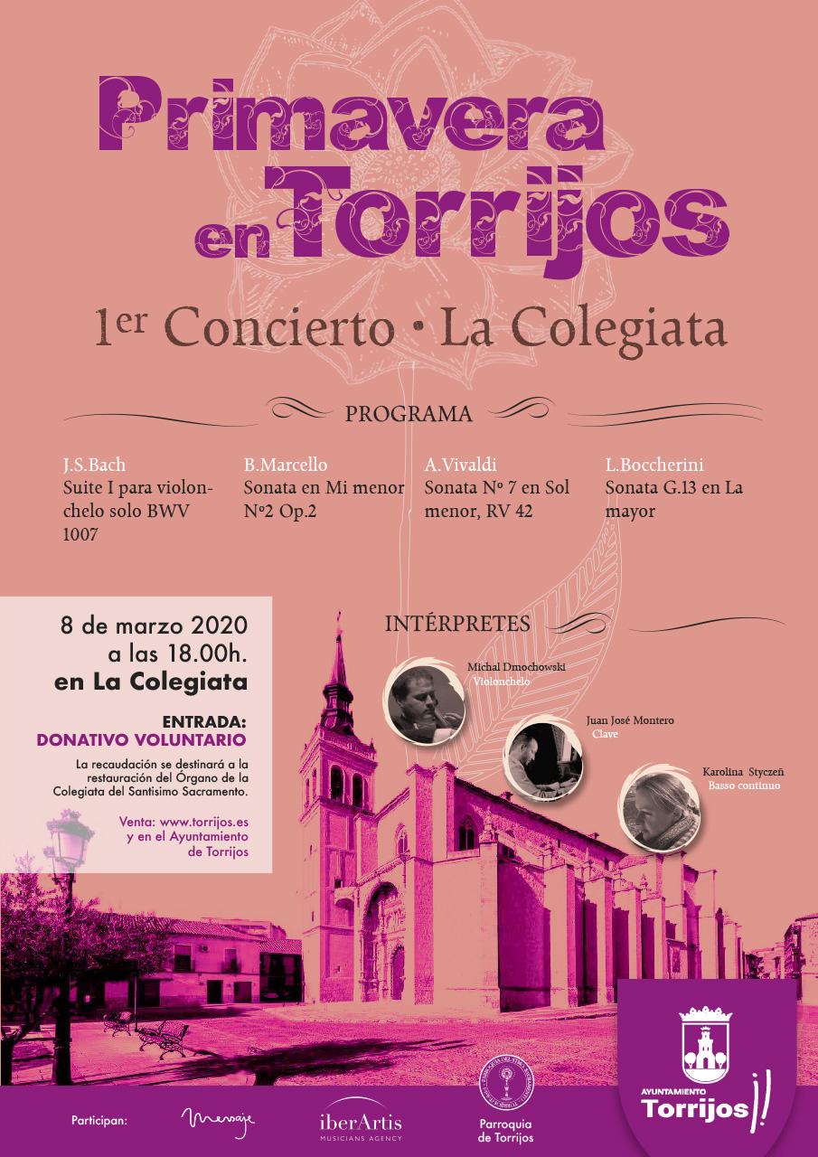 Diseño cartel música en Torrijos 2