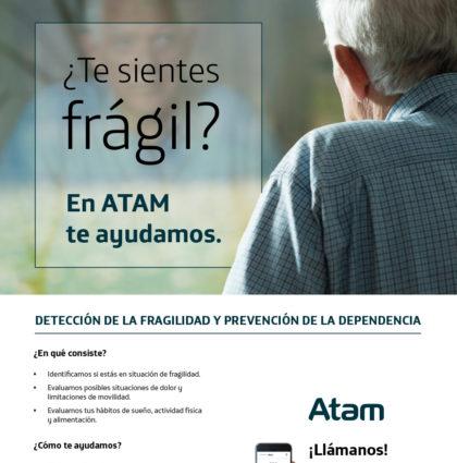 Campaña de prevención de la fragilidad para ATAM